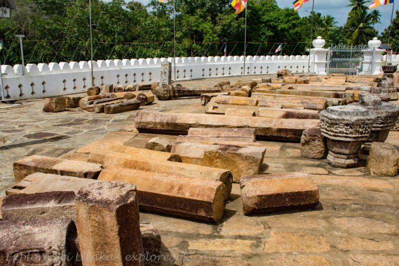 Archeological Ruins at Thuparamaya Stupa
