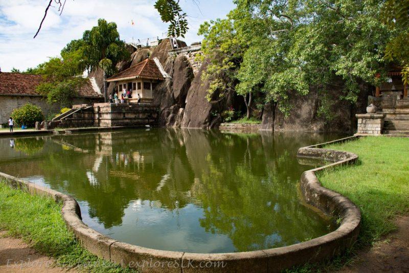 Elephant Pond at Isurumuniya Temple
