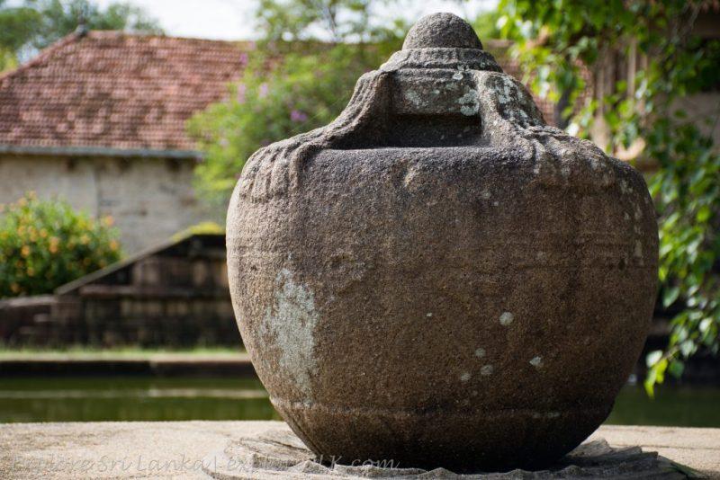 Stone Punkalasa at Isurumuniya