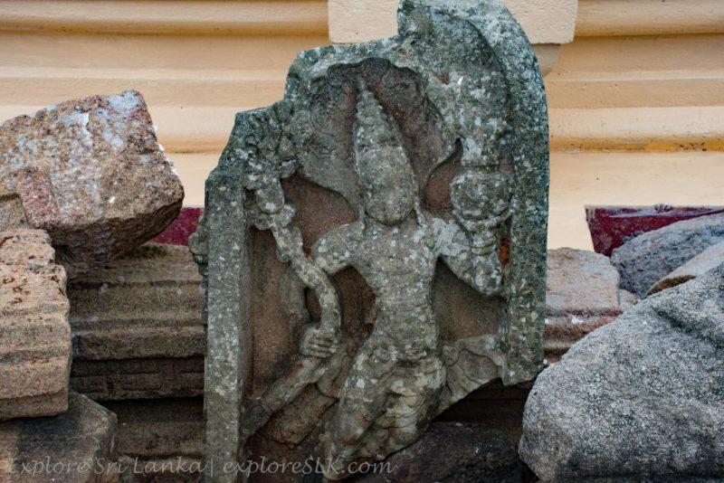 Archeological Ruins at Mirisawetiya Stupa