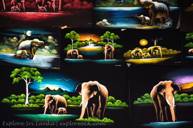 Sri Lankan Canvas Paintings