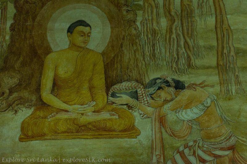 Ancient Murals at Kelaniya Temple
