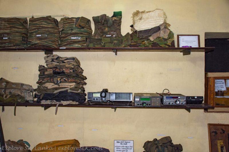 Belongings of LTTE Terrorists