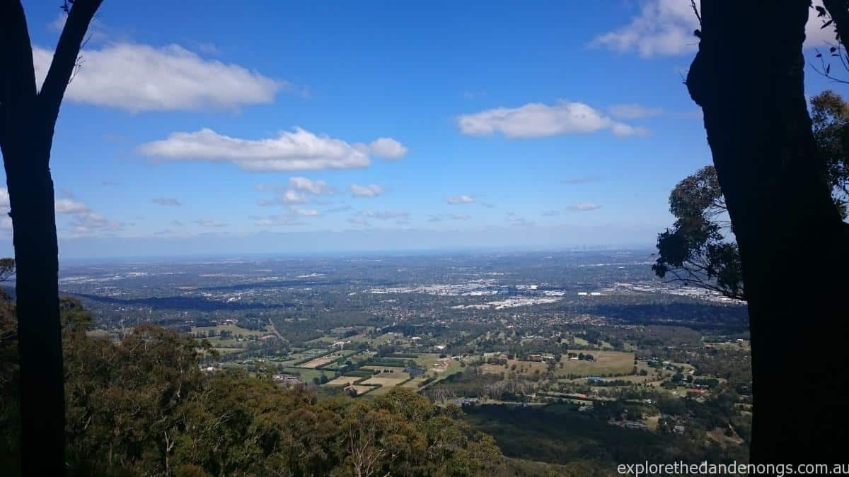 Burkes Lookout  Spectacular views from Mt Dandenong