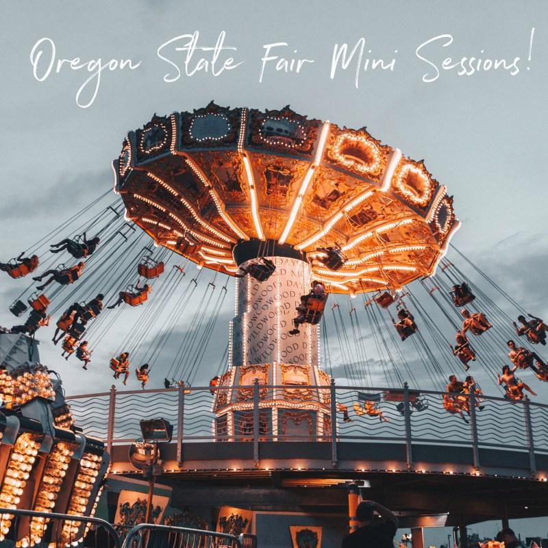 Oregon State Fair Mini Sessions!