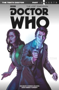 Doctor Who: The Tenth Doctor: Year Three #9 - Part 3 of The Lost Dimension Cover