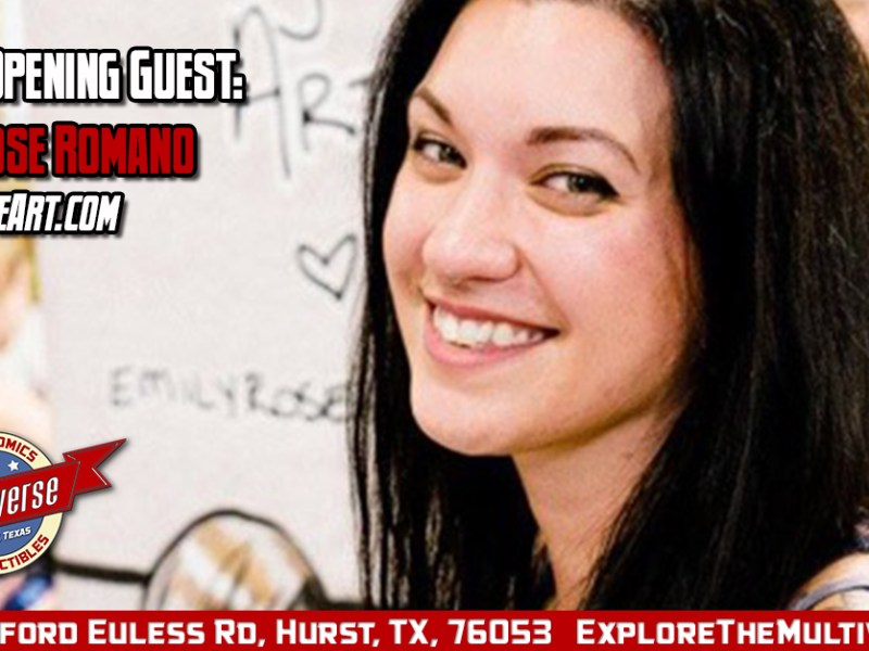 Grand Opening Guest – Emily Rose Romano