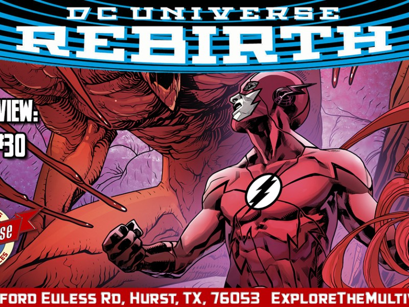 Comic Review – The Flash #30