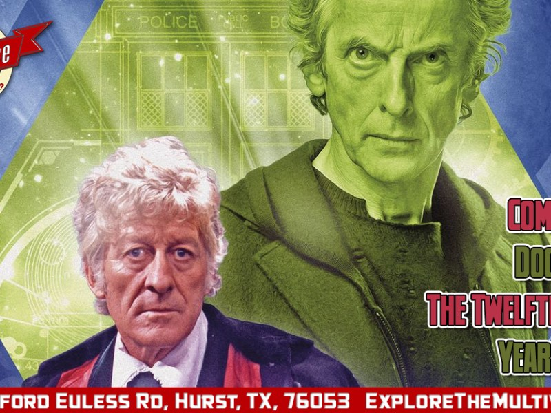 Comic Review –  Doctor Who: The Twelfth Doctor: Year Three #8 (The Lost Dimension – Part 6)