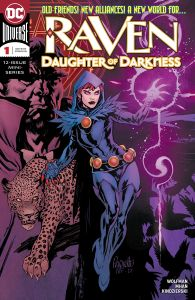 Raven Daughter of Darkness #1 Cover