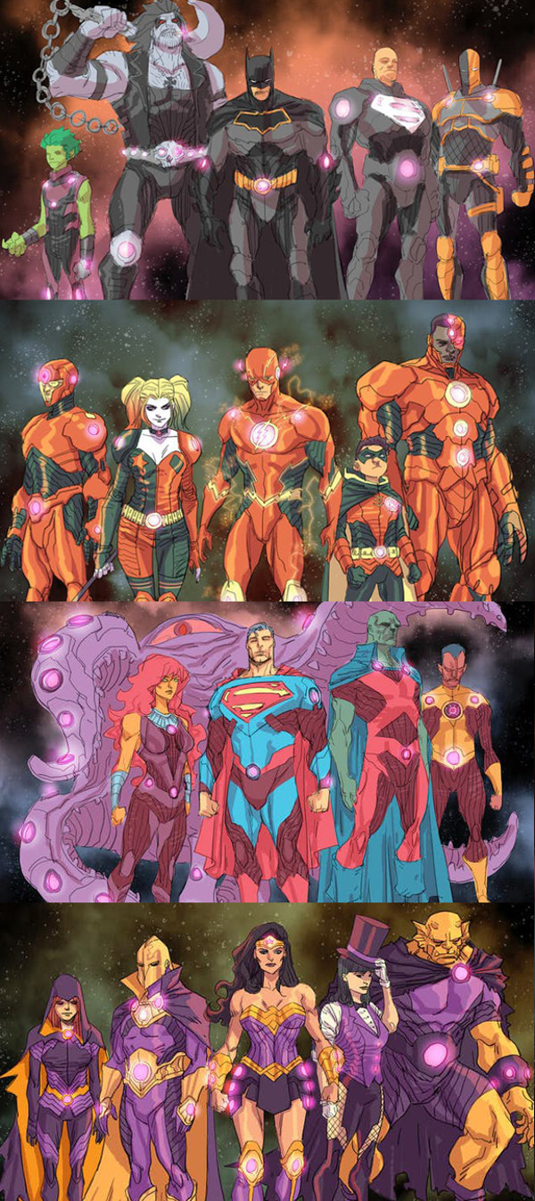 Justice League No Justice Teams