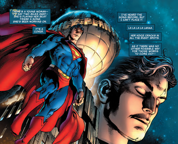 Comic Review – Man Of Steel #1 – The Multiverse
