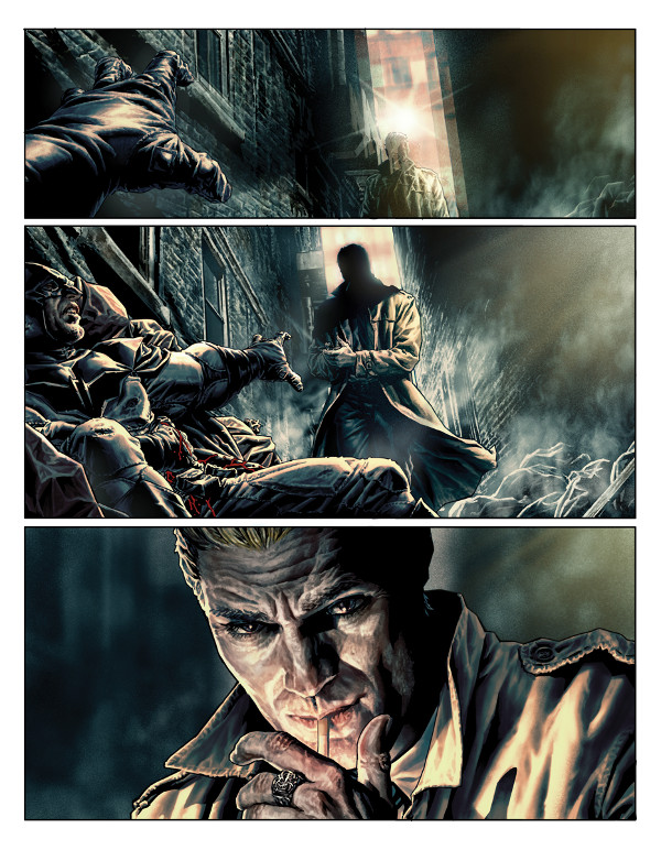 Batman Damned #1 Page 1