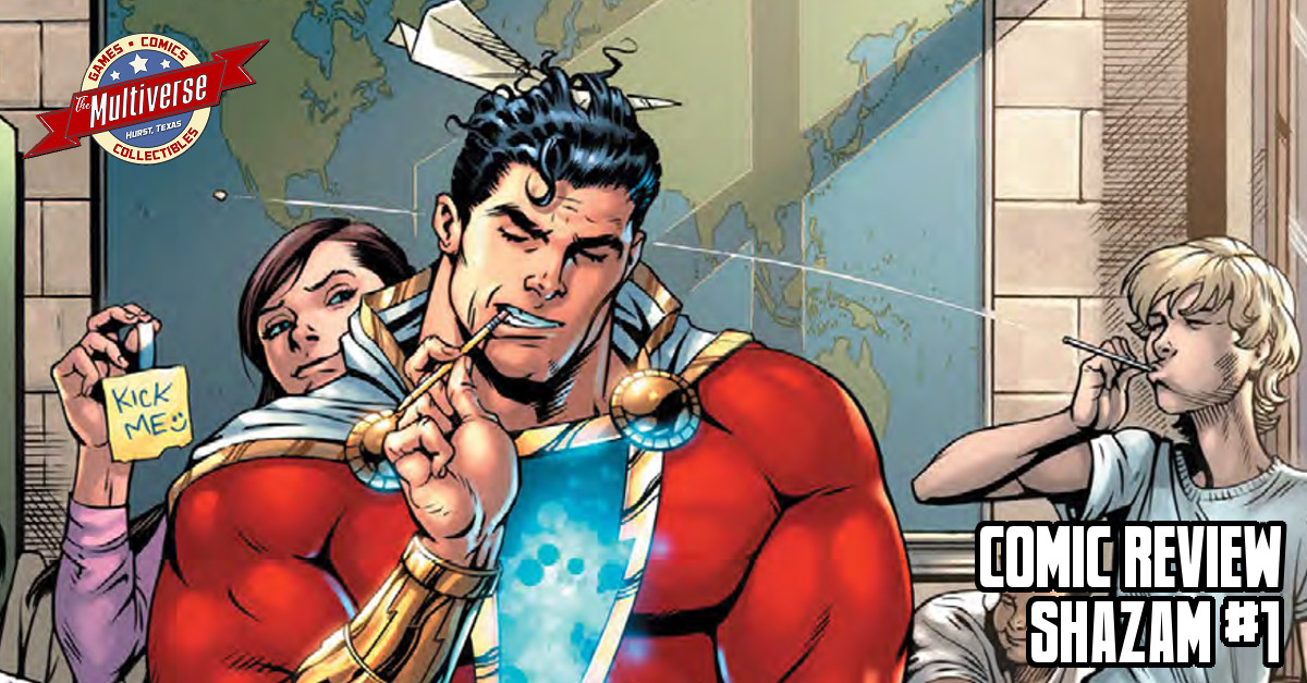 Comic Review - Shazam #1