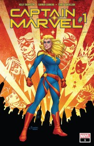 Captain Marvel (2019) #1 Cover