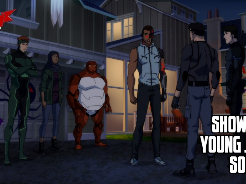 YOUNG JUSTICE EPISODE REVIEW S03:E10-13
