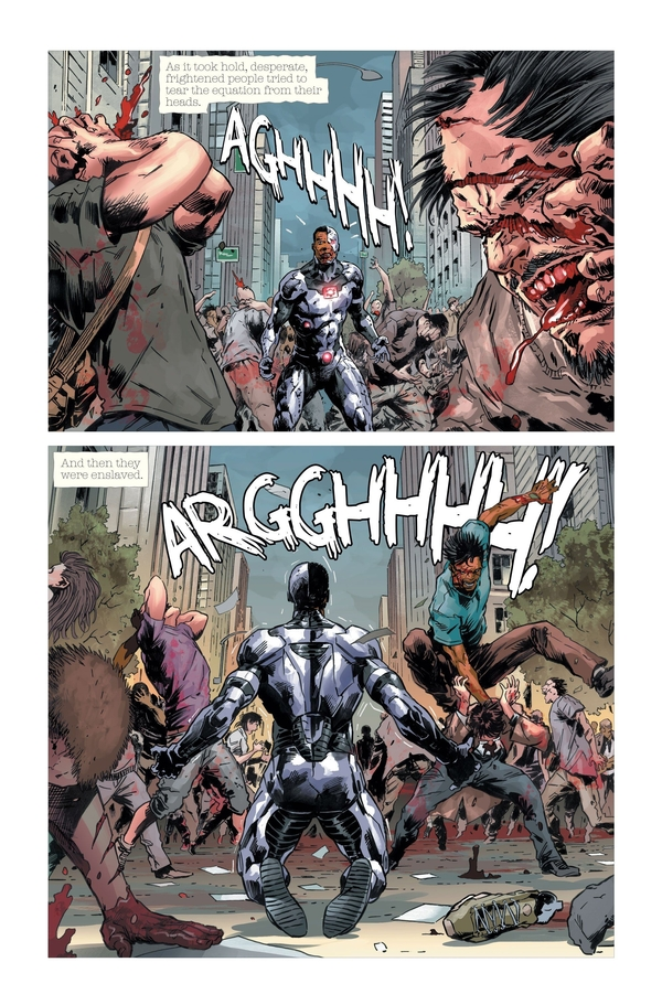 DCeased #1 Preview Page 2