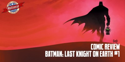 Batman Last Knight On Earth #1 Baner