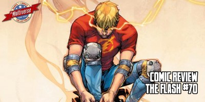 The Flash #70 Banner