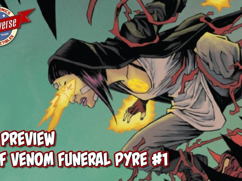 COMIC PREVIEW – WEB OF VENOM FUNERAL PYRE #1