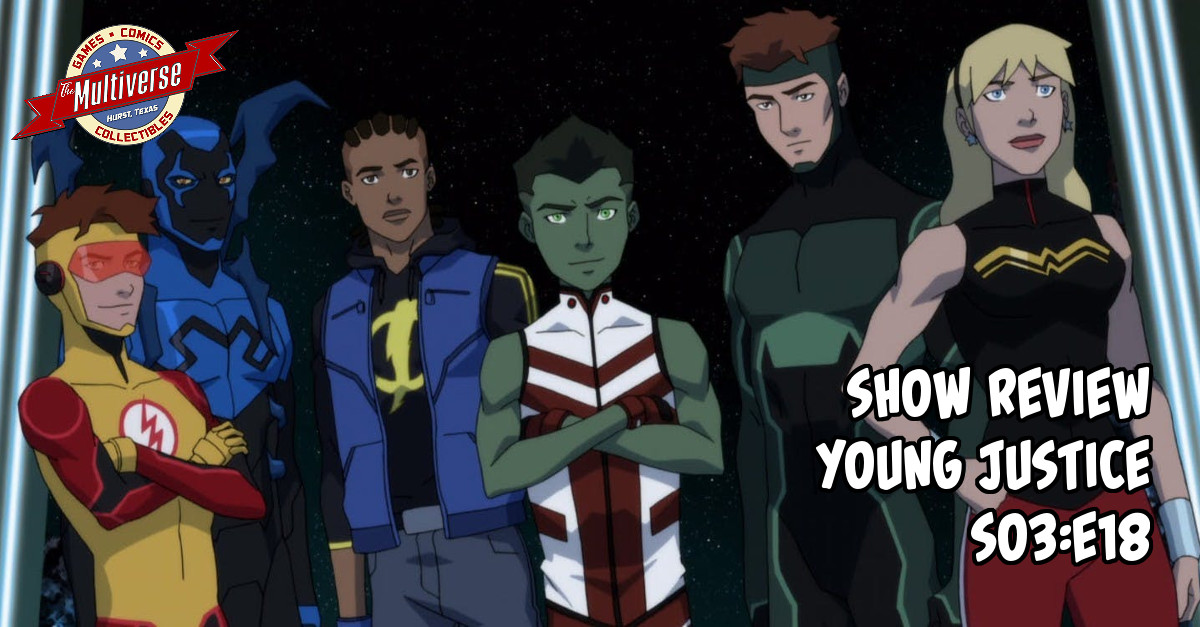 Young Justice S3E18 Banner