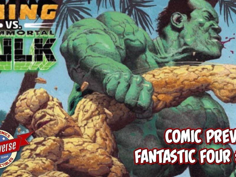 COMIC PREVIEW – FANTASTIC FOUR #12