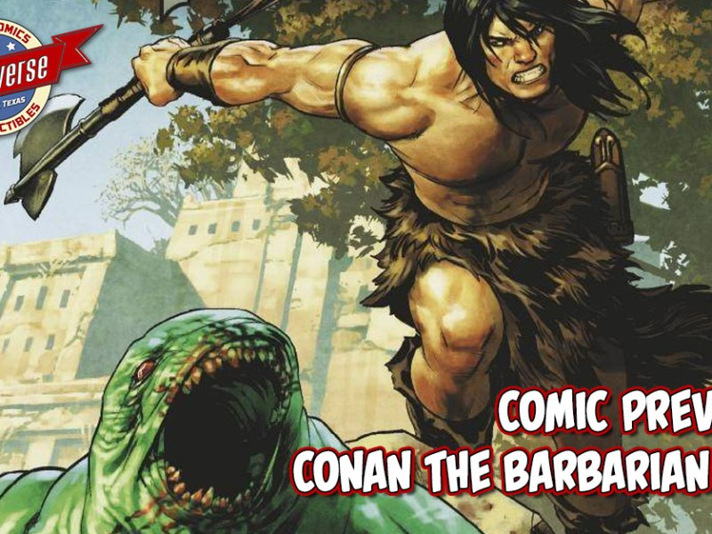 COMIC PREVIEW – CONAN THE BARBARIAN #8