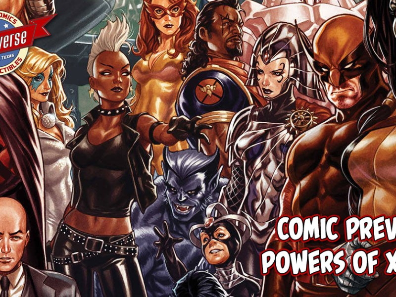 COMIC PREVIEW – POWERS OF X #1