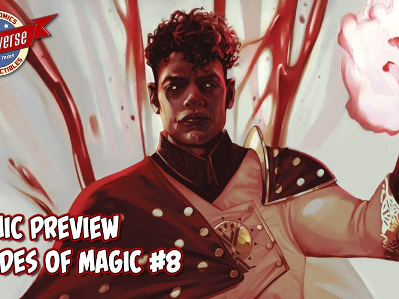 COMIC PREVIEW – SHADES OF MAGIC #8