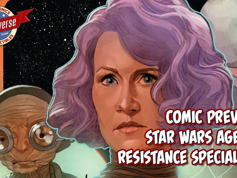 COMIC PREVIEW – STAR WARS AOR SPECIAL #1