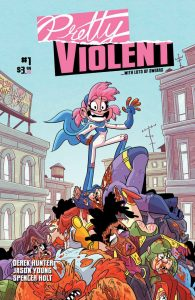 Pretty Vilolent #1 Cover