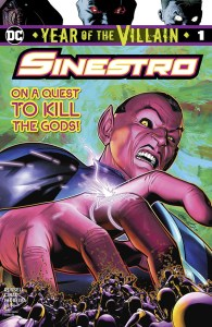 Sinestero Year Of The Villain Special Cover
