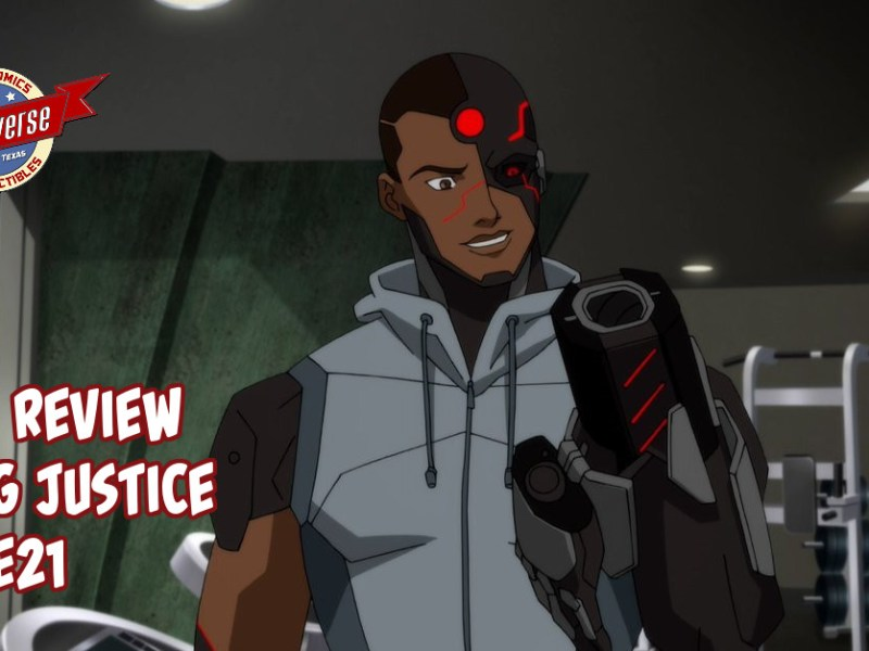 YOUNG JUSTICE EPISODE REVIEW S03:E21