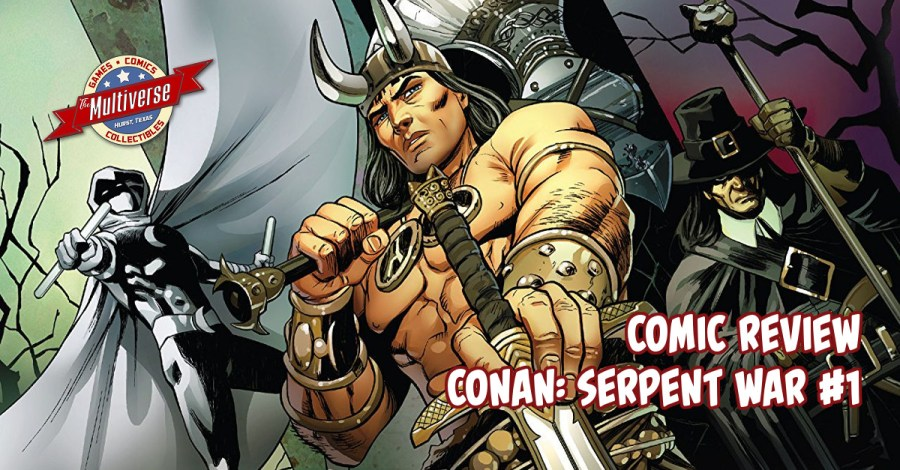 Conan Serpent War #1 Banner