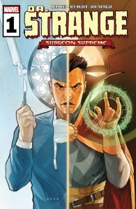 Doctor Strange Surgeon Supreme #1 Cover