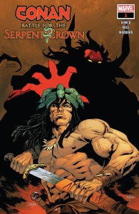 Conan Battle For The Serpent Crown #1 Cover