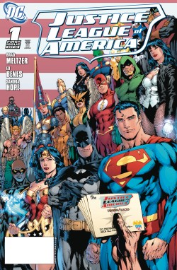 DOLLAR COMICS JUSTICE LEAGUE OF AMERICA #1 2006 (JAN200622)