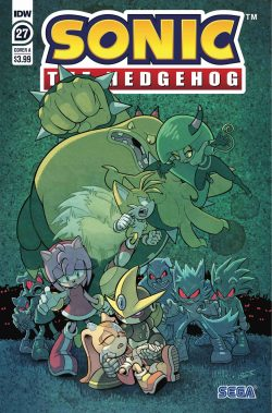SONIC THE HEDGEHOG #27 CVR A WELLS & GRAHAM (C: 1-0-0) (JAN200717)