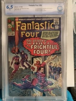 Fantastic 4 #36 CBCS Graded 6.5