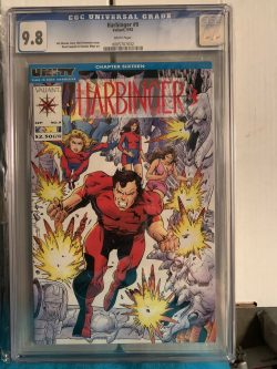 Harbinger #9 CGC Graded 9.8