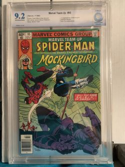 Marvel Team Up #95 CBCS Graded 9.2