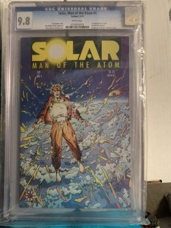 Solar Man of the Atom #1 CGC Graded 9.8