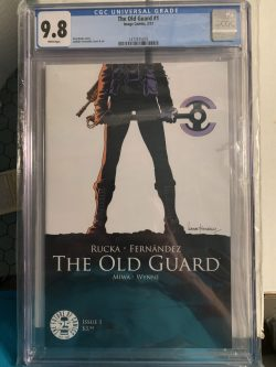 The Old Guard #1 CGC Graded 9.8