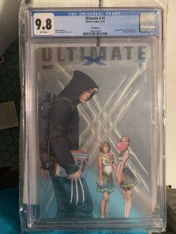 Ultimate X #1 CGC Graded 9.8