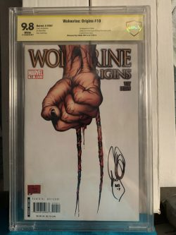 Wolverine Origins #10 CBCS Graded 9.8 Signed by Daniel Way