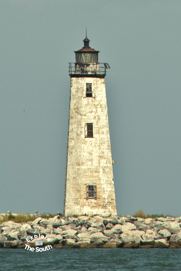 New Point Comfort Lighthouse in Virginia