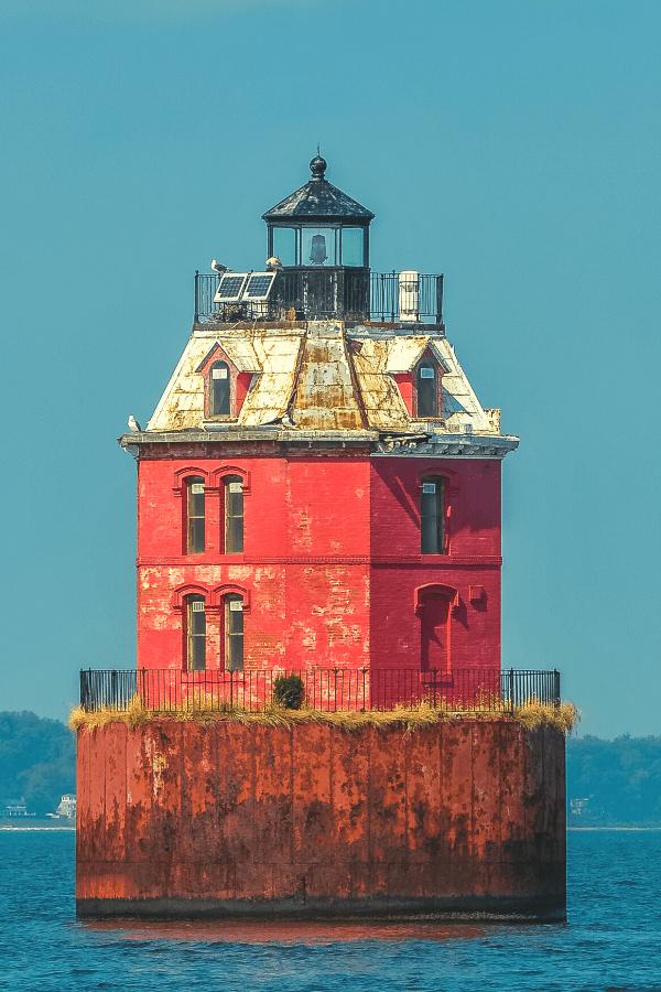 Wolf Trap Lighthouse Chesapeake Bay