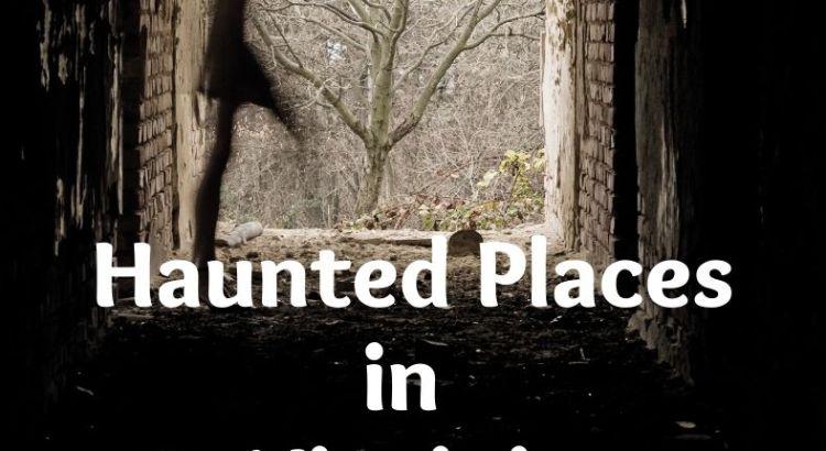 a ghost shadow walking past an open door