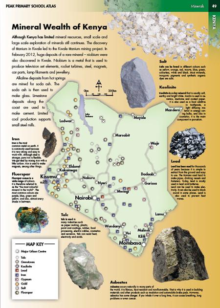 Eric Olason Cartographic Artist Mineral Wealth of