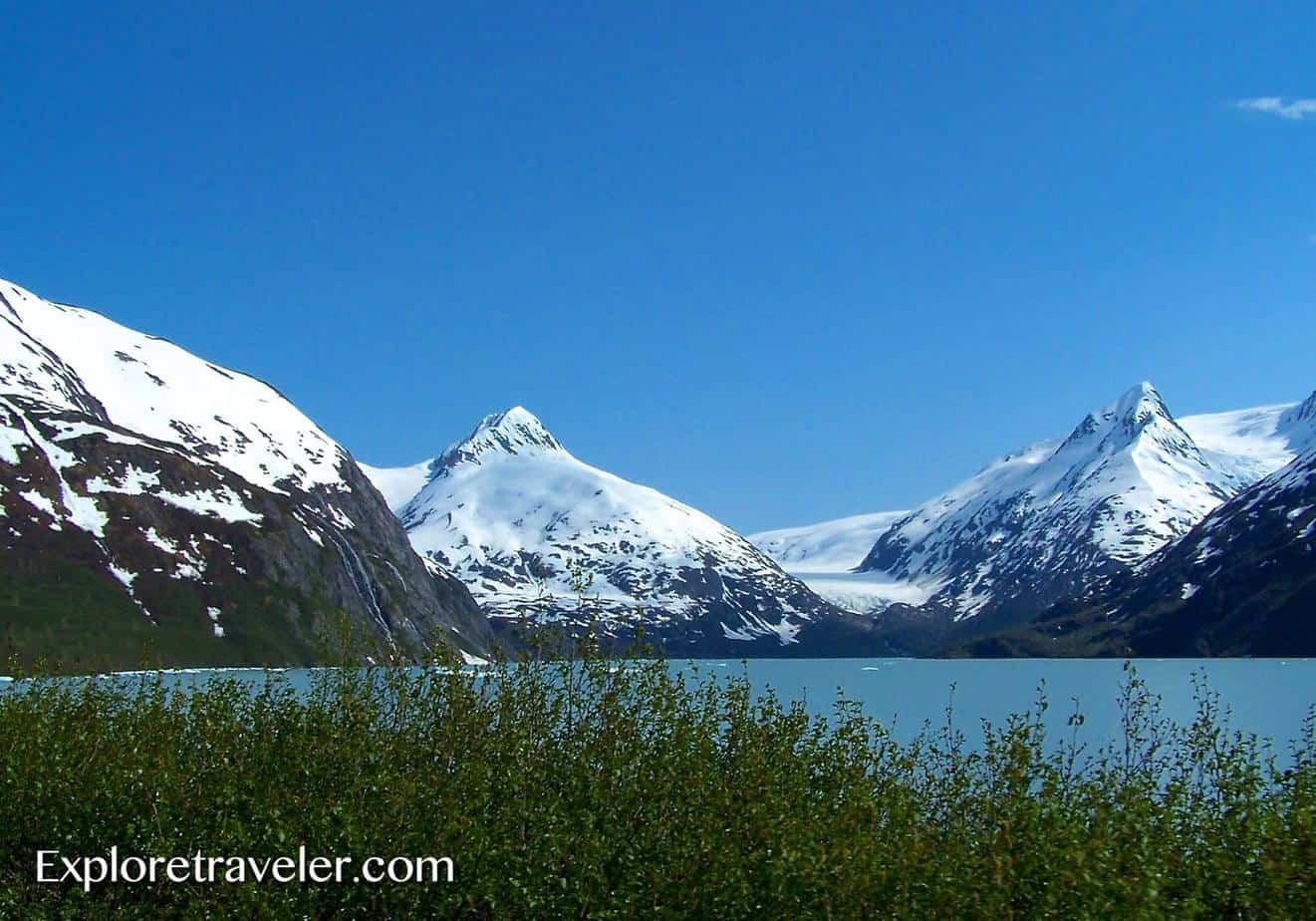 Alaska Marine Highway - Whittier Alaska Gateway to the glacier and wildlife filled Prince William Sound